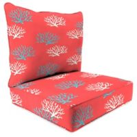 Print 24-Inch Deep Seat Chair Cushion in Isadella Calypso