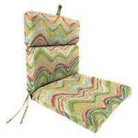 Print Outdoor 44-Inch Dining Chair Cushion in Faremore Carnival