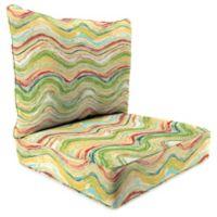 Print 24-Inch Deep Seat Chair Cushion in Faremore Carnival
