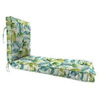 Jordan Manufacturing Senca Caribbean 68-Inch Chaise Lounge Cushion in Green