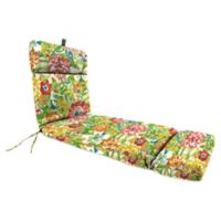 Print 72-Inch Chaise Lounge Cushion in Garden