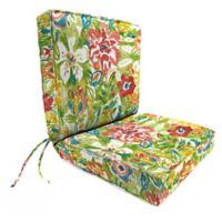 Print 44-Inch Boxed Edge Dining Chair Cushion in Sunriver Garden