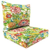 Print 24-Inch Deep Seat Chair Cushion in Sunriver Garden