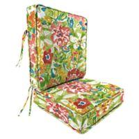 Print 2-Piece Deep Seat Chair Cushion in Sunriver Garden