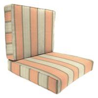 Outdoor 46-Inch 2-Piece Deep Seat Chair Cushion in Sunbrella® Cove Cameo