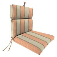 Stripe 44-Inch x 22-Inch Dining Chair Cushion in Sunbrella® Cove Cameo