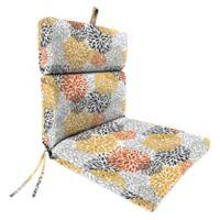 Jordan Manufacturing Blooms Citrus 44-Inch Dining Seat Cushion
