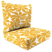 Print 24-Inch Deep Seat Chair Cushion in Twirly