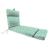 Jordan Manufacturing Tropez 72-Inch Chaise Lounge Cushion in Turquoise