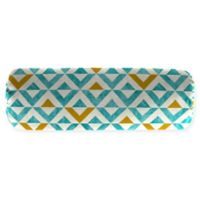 Jordan Manufacturing Tropez Oblong Throw Pillow in Turquoise