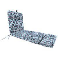 Print 72-Inch Chaise Lounge Cushion in Magna Oxford Blue