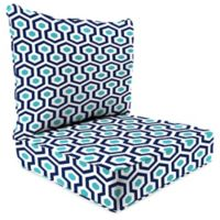 Print 24-Inch Deep Seat Chair Cushion in Magna Oxford