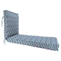 """Jordan Manufacturing Magna Oxford Outdoor 68"""" Deep Seat Chaise Lounge Cushion in Blue"""
