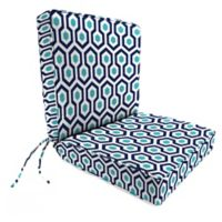 Print 44-Inch Boxed Edge Dining Chair Cushion in Magna Oxford