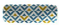 Jordan Manufacturing Tropez Outdoor 20-Inch Lumbar Throw Pillow in Cobalt