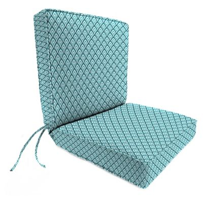 Jordan Manufacturing Lalo Oxford 22 Inch X 44 Inch Boxed Edge Dining Chair  Cushion