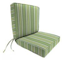 Stripe 44-Inch x 22-Inch Dining Chair Cushion in Sunbrella® Foster Surfside