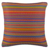 Fab Habitat Cancun 16.5-Inch Square Multicolor Indoor/Outdoor Accent Pillow