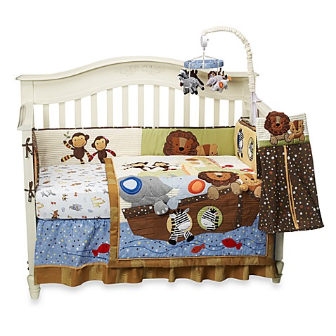 Lambs Amp Ivy 174 S S Noah 4 Piece Crib Bedding Set And