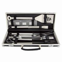 Mr. Bar-B-Q® 18-Piece BBQ Tool Set with Aluminum Case