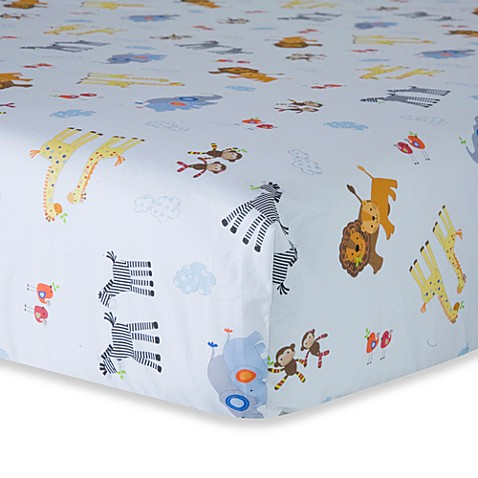 Lambs & Ivy® S.S. Noah Fitted Crib Sheet