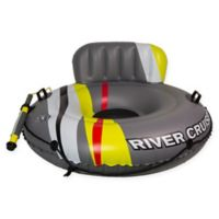 Poolmaster DLX River Cruiser Lounge with Pump-N-Squirt Water Launcher