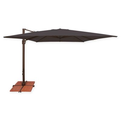 Sunbrella® Bali 10u0027 Square Umbrella In Black