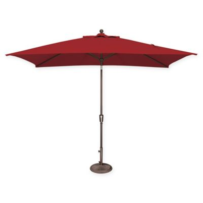 Simplyshade® 6.6u0027 Solefin Canopy Replacement In Really Red