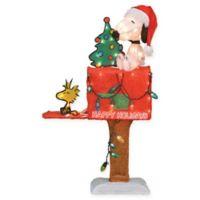 Peanuts™ Pre-Lit Snoopy 32-Inch Mailbox