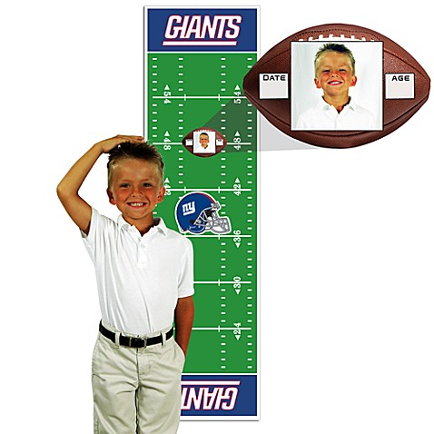 NFL New York Giants Green Growth Chart