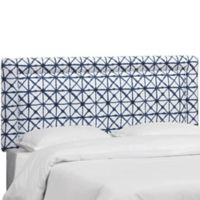 Suzy King Linen Headboard in Indigo