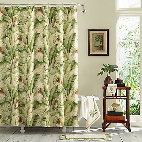Tommy Bahama 174 Palmiers Shower Curtain Collection Bed
