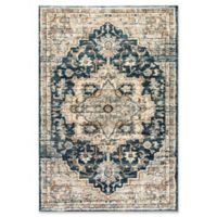 Dynamic Rugs Evolution Heriz 2' x 3'3 Accent Rug in Navy