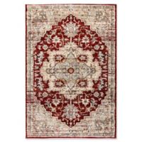 Dynamic Rugs Evolution Heriz 2' x 3'3 Accent Rug in Rust