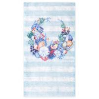 Design Design Inc. 15-Count Shell Wreath Paper Guest Towels