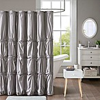 Intelligent Design Benny Shower Curtain in Grey