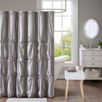 Intelligent Design Benny Shower Curtain in Grey
