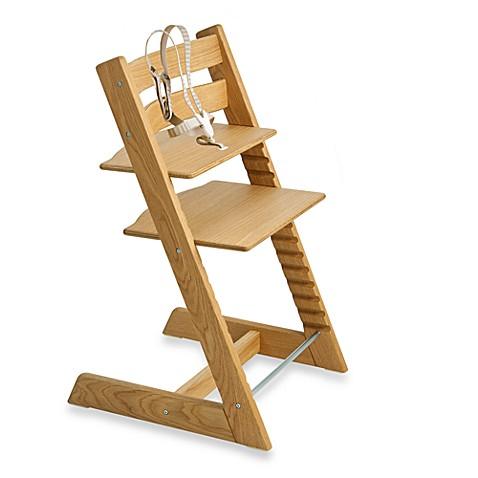 Stokke tripp trapp highchair in european oak bed bath for Stokke tripp trapp oak