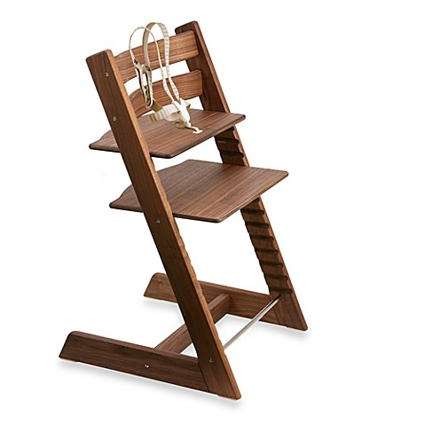 stokke tripp trapp highchair in american walnut buybuy baby. Black Bedroom Furniture Sets. Home Design Ideas