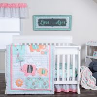 Trend Lab® Playful Elephants 3-Piece Crib Bedding Set