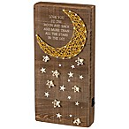 "Primitives by Kathy® ""Love You to The Moon and Back"" LED String Art"