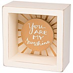 "Primitives by Kathy® ""You Are My Sunshine"" Reverse Box Sign"
