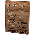 "Primitives by Kathy® ""Love You to the Moon and Back"" String Art"