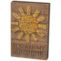 """Primitives by Kathy® """"You Are My Sunshine"""" String Art"""