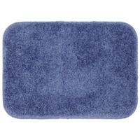 "Mohawk Home Envision Studio 24"" x 17"" Bath Mat in Dark Blue"