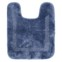 Mohawk Home Facet Contour Bath Mat in French Blue