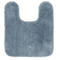 Mohawk Home New Regency Contour Bath Mat in Diamond Blue