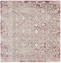 Safavieh Palermo Madrid 6-Foot 7-Inch x 6-Foot 7-Inch Area Rug in Rose