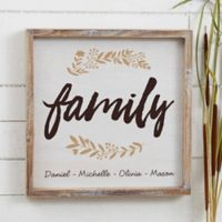 Cozy Home 12-Inch Square Barnwood Frame Wall Art