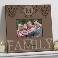 Forever Family 5-Inch x 7-Inch Wall Picture Frame
